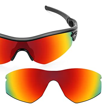 8c9d63fc93e Revant Polarized Replacement Lens for Oakley Radar (Sprint) Fire Red  MirrorShield