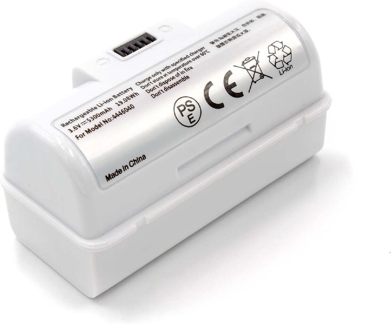 INTENSILO Batería compatible con iRobot Braava Jet 245, 250, M6, Jet M6110, M6134 robot limpiasuelos, robot doméstico (5300mAh, 3.6V, Li-Ion): Amazon.es: Hogar