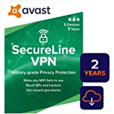 Avast SecureLine VPN 2020   5 Devices, 2 Years [PC/Mac/Mobile Download]