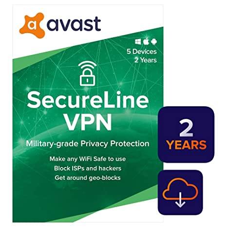 Best Free Pc Cleaner 2020.Amazon Com Avast Secureline Vpn 2020 5 Devices 2 Years