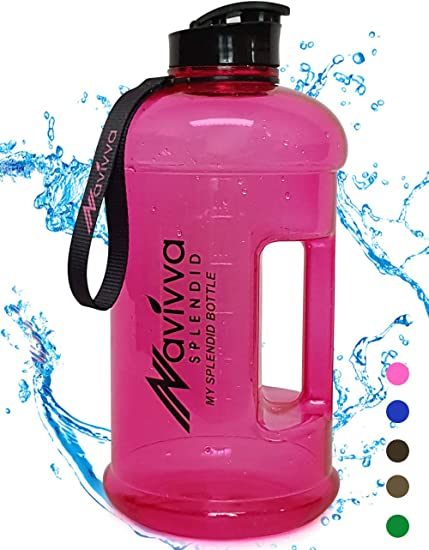 2 L gym bouteille d/'eau grand sport entraînement Boisson Carafe 2.2 L entraînement Run bouteilles