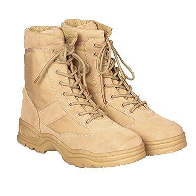 Mc Allister Army Outdoor Boots Stiefel Arbeitsschuhe Kampfstiefel Securitystiefel Desert 37 47