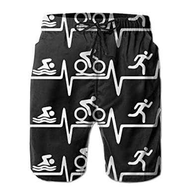 KAKICSA Triathlon Heartbeat1 Mens Printing Board/Beach ...