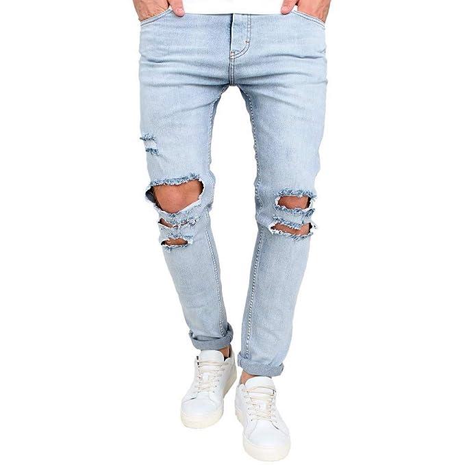 JiaMeng Pantalones de hombre Pantalones Chandal Hombre ...
