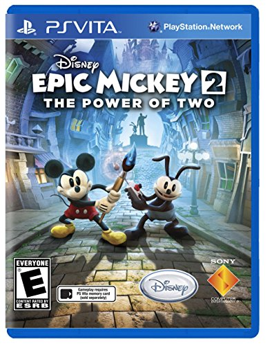 Disney Epic Mickey 2: Power of Two Rare NTSC Version by Junction Point