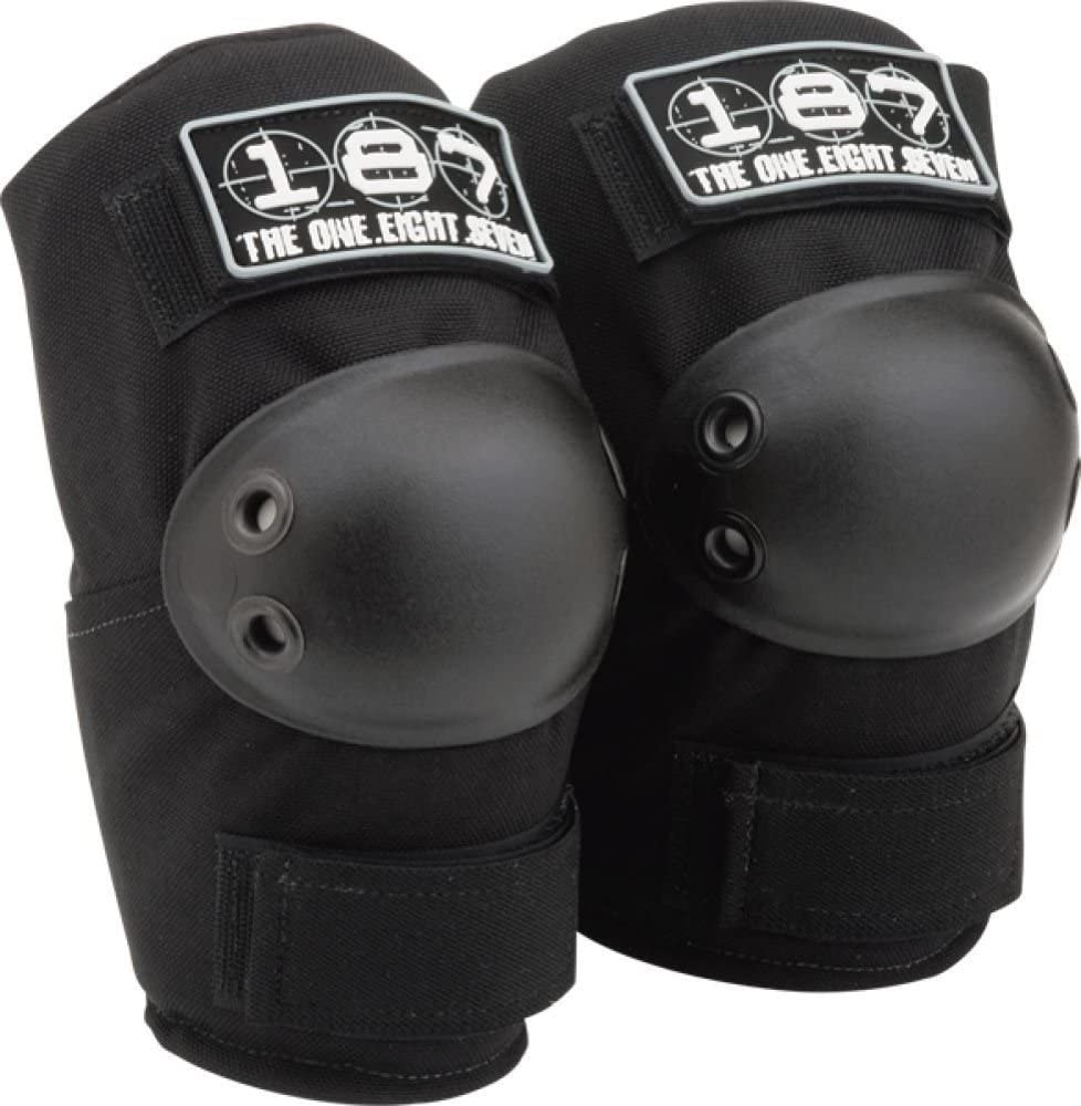 187 Elbow Pads Xs 黒 Skate Pads by 187