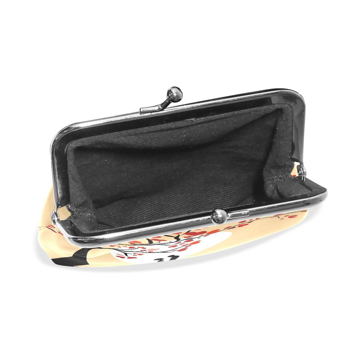 LALATOP Sun Couple Silhouette Womens Coin Pouch Purse wallet Card Holder Clutch Handbag