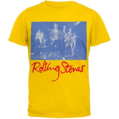 d03eae8029fcb Amazon.com  Rolling Stones - Black and Blue Live T-Shirt  Clothing