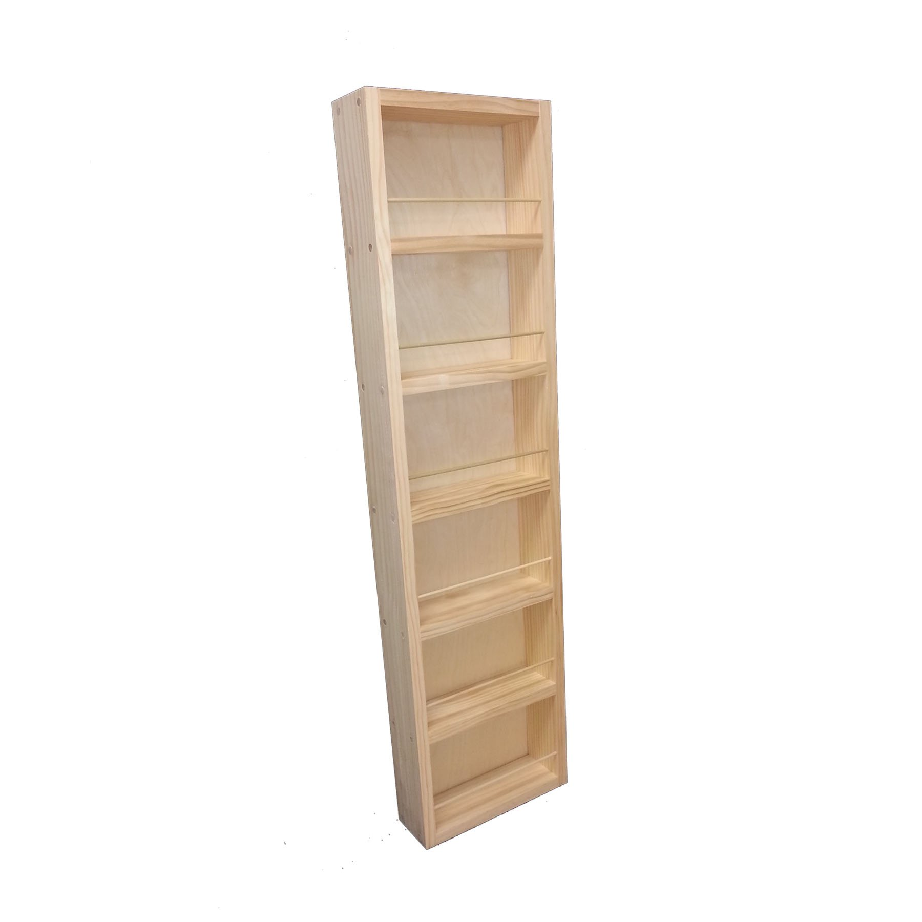 Wood Cabinets Direct Fulton on The Wall Spice Rack, 42'' Height x 14'' Width x 3.5'' Deep