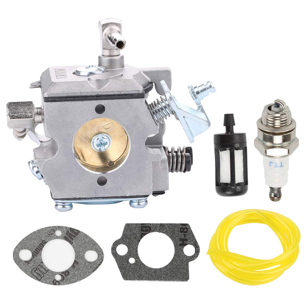 Fuel Li WA-2-1 Carburetor Kit for WA-2 Stihl 031AV 031 030 Paramount PLT2145 Weed Eater LT7000 GTI17LE GTI52 SST45 Poulan 112 DPT112 Chainsaw Carb 1113-120-0602