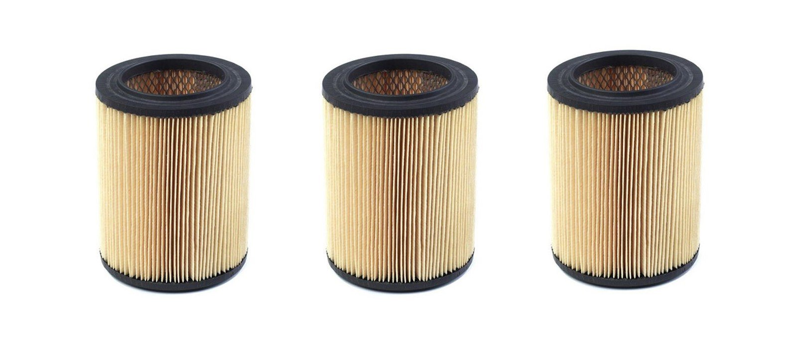 Shop-Vac 90328 Ridgid Replacement Cartridge Filter for Craftsman and Ridgid Brand Vacuums, 3 Pack by Shop-Vac