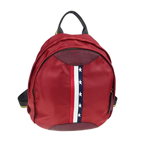 6325167b76 Amazon.com  JZE Fashion Backpack Oxford Cloth Nylon Rucksack Small Shoulder  Bag for Girls Daypack for Women   Kids. (Red)  Shoes