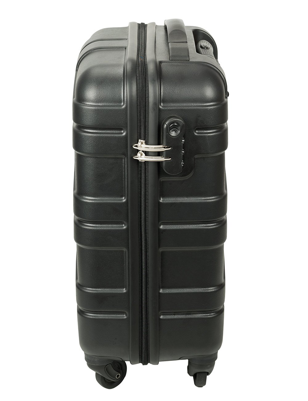 f747440228f Killer Huawaii Polycarbonate 50 cms (20 inches) Black Hardsided Trolley  Suitcase  Amazon.in  Bags
