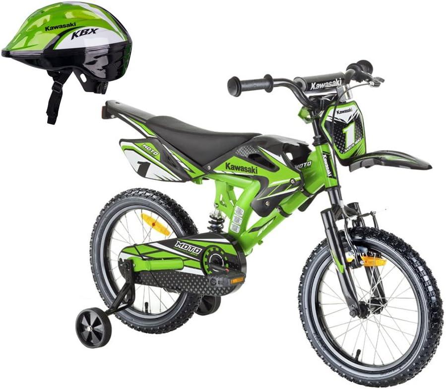 Kawasaki – Bicicleta BMX para niño de Bicicleta sairensa Moto 16 ...