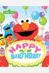 Happy Birthday! (Sesame Street Scribbles) Kindle Edition