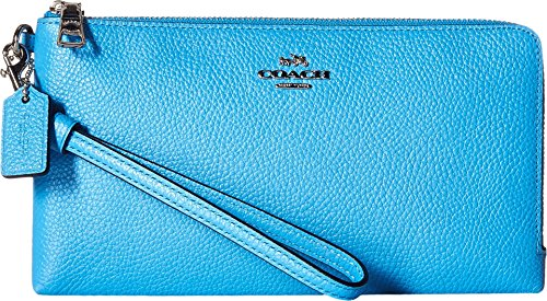 COACH Womens Double Wallet Checkbook