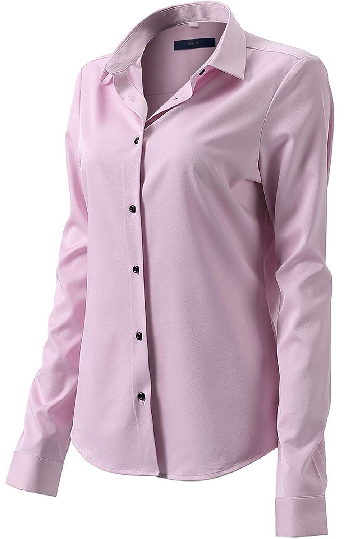 675c8d9927 FLY HAWK Womens Button Down Shirts