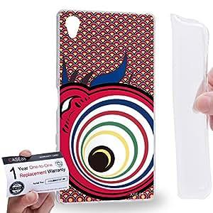 Case88 [Sony Xperia Z5 Premium] Gel TPU Carcasa/Funda & Tarjeta de garantía - Art Drawing Lava Koinobori Satsuki Nobori 2030