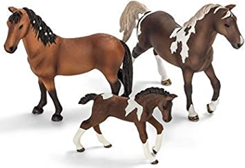 Schleich Andalou Poulain Cheval Farm Life Figure Toy Figure 13822
