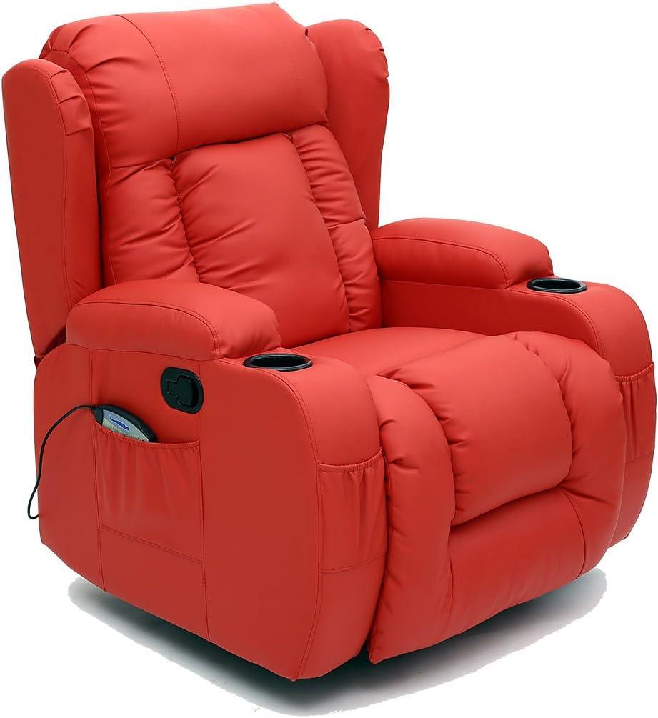 More4homes Caesar Recliner Massage Armchair