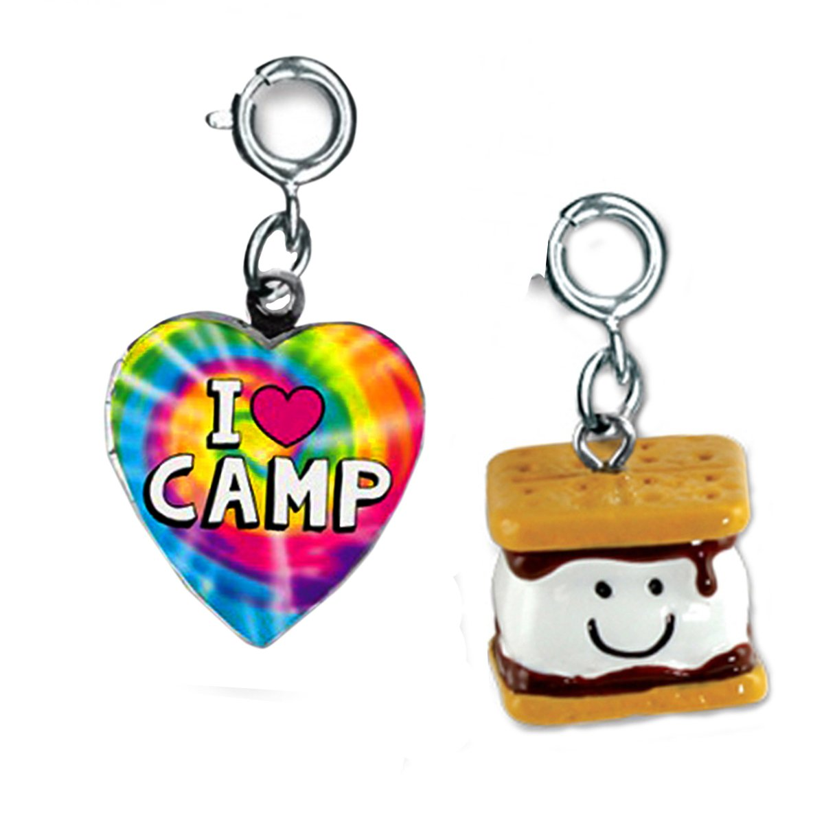 CHARM IT! I Love Camp and Marshmallow Smores 2 Charm Add on Set