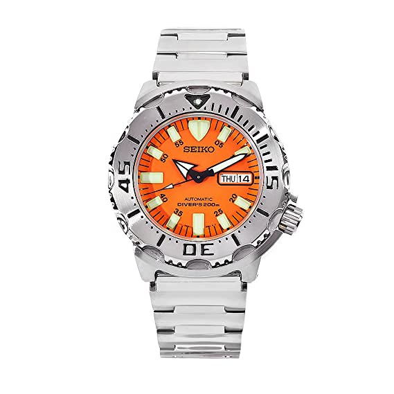 Seiko SKX781K1 - Reloj analógico automático para hombre, correa de acero inoxidable color metalizado: Amazon.es: Relojes