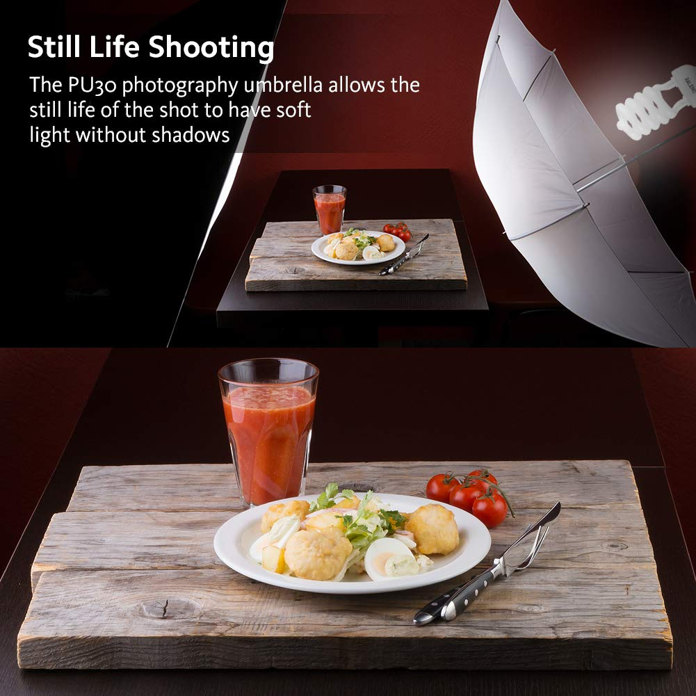 Photography Umbrella Lighting Kit, 600W 5500K Day Light Continuous Studio Lights Equipment for Portrait Video Studio Shooting by RALENO by RaLeno (Image #7)