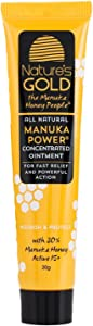 Manuka Honey Active MGO 514+ Healing Concentrated Ointment - Manuka Honey for Skin and Wound Care - Face and Body - Dry Irritated Skin - by Nature's Gold