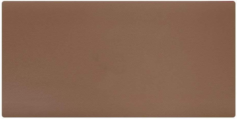 LiLan Alfombrilla de Escritorio Cuero Grande, 600x300mm, Marrón