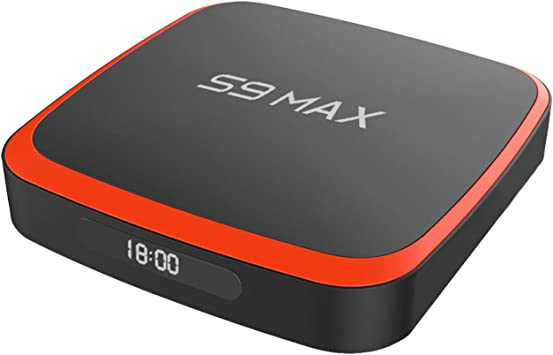 Caja de TV SUNNZO S9 MAX S905X3 4 + 32 Android 9.0 Dual-WiFi 2.4Ghz / 5Ghz 3D 4K USB 3.0 H.265: Amazon.es: Electrónica