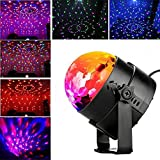 Party Lights Disco Ball Sound Activated Party Light, Blingco LED Stage Strobe DJ Lights Effect Show Dance Lighting Disco Party Ball Night Lights for Kids Gifts Birthday Wedding Bar KTV Club Holiday