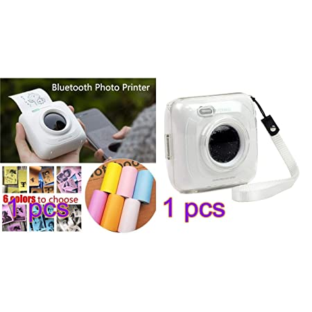 EisEyen Paperang - Impresora térmica con Bluetooth y Funda ...