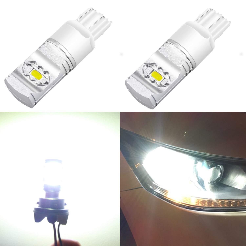 Alla Lighting 3800lm T20 7440 7443 White LED Bulbs Xtreme Super Bright 7441 7444 7443 LED Bulb ETI 56-SMD 6000K Xenon LED 7443 Bulb for Turn Signal Back-Up Reverse DRL Brake Stop Tail Lights (2pcs) by Alla Lighting