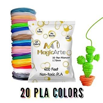Recambios de filamento para bolígrafo o impresora 3D MagicArte ...