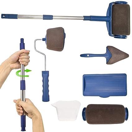 5 Piece DIY Paint Brush Home Painting Decorating Art Kit Set Durable Handles