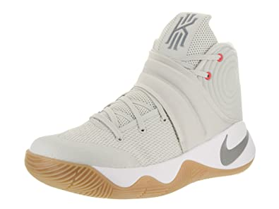 Nike Men's Kyrie 2 Basketball Shoe Lt Bone/Reflect Silver/White - Size 11
