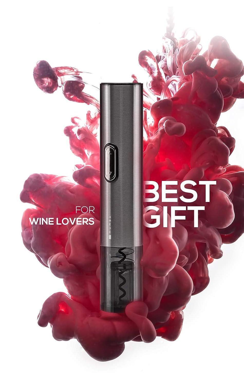 Mumba 3in1 Electric Wine Saver Opener Vacuum Preserver Usb