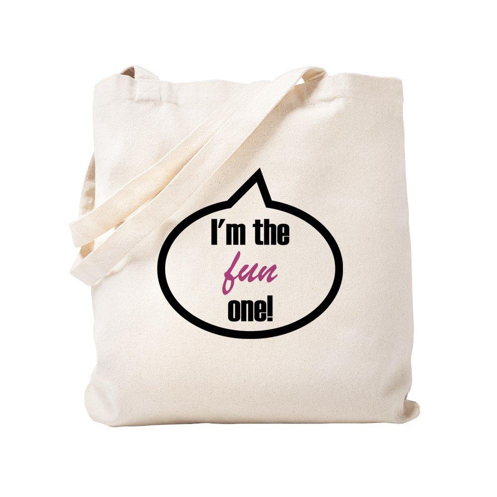 CafePress – 私はThe Fun 1つ。 – ナチュラルキャンバストートバッグ、布ショッピングバッグ S ベージュ 0396233580DECC2 B0773S182Z S