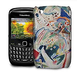 Phone Case For BlackBerry Curve 8520/9300 - Kandinsky Abstract Art Painting Glossy Designer wangjiang maoyi