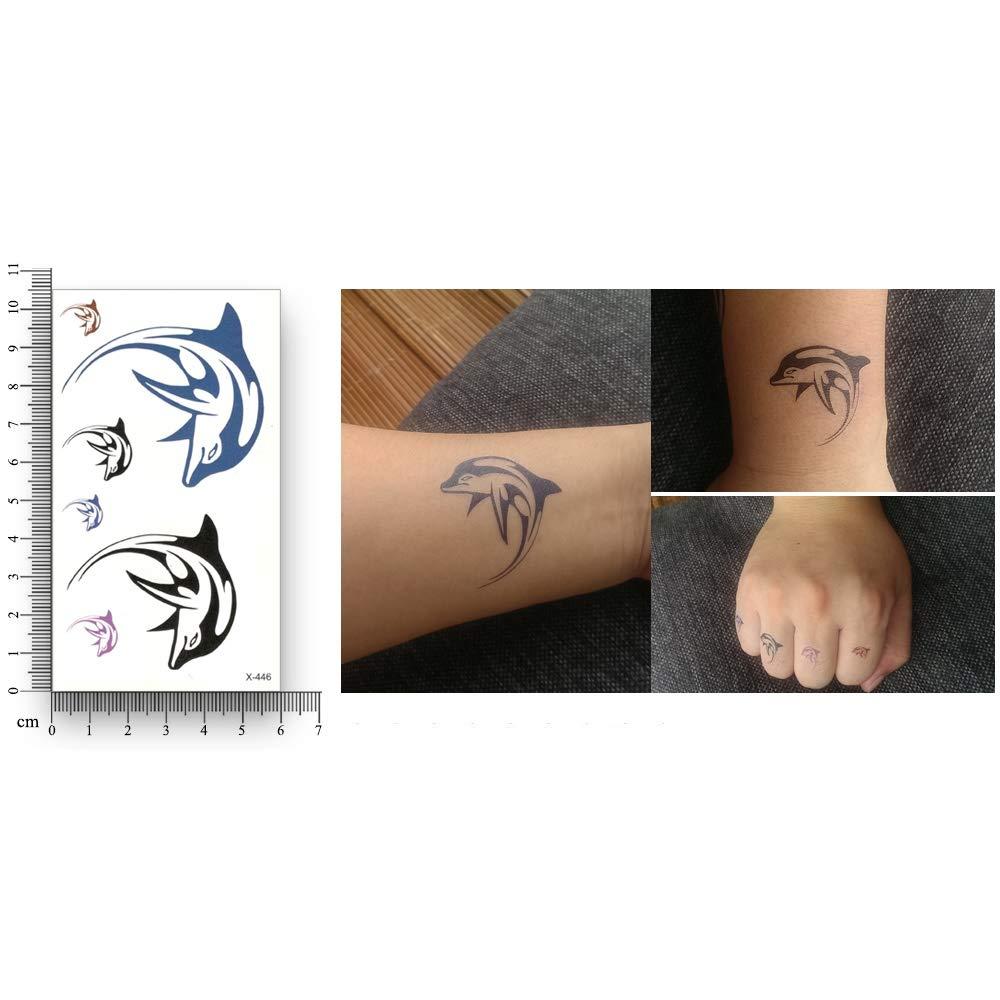 XYY Falso tatuaje temporal, Conversión de la transferencia del ...