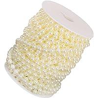 FLAMEER Hilos De Perlas Artificiales De 8 Mm