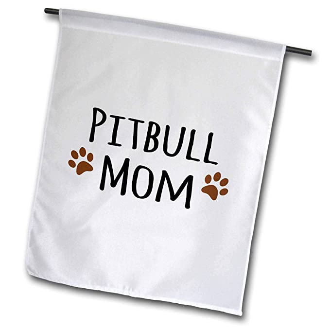 3drose Fl 154172 1 Pitbull Dog Mom Doggie By Breed Garden Flag 12 By 18 Inch Amazon In Garden Outdoors
