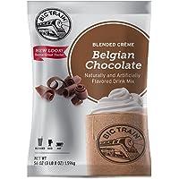 Big Train Blended Creme Mix, Belgian Chocolate, 3.5 Pound