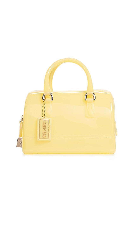 FURLA Candy Cookie Mini-Satchel Handbag Blu Pavone One Size Furla-Women's 941237