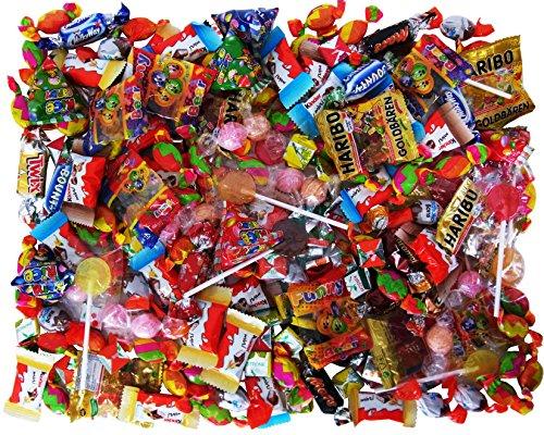 Süßigkeiten - Mix 210-teilig, für Kindergeburtstag mit 6 Kinder, 1er Pack (1 x 937g)