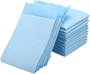 Zdolmy Super Absorbent Disposable Underpads - Bed Pads for Incontinence - Ultra Absorbent 85g Bulk Bed Pads for Adults, Pets, Furniture – Thick Incontinence Bedding & Furniture Protect(36Lx23W,10Pads)