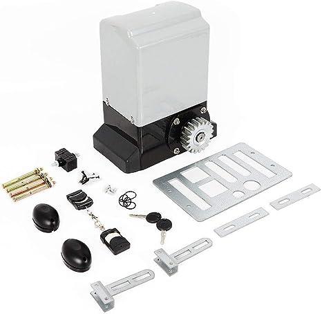 OUKANING - Accionamiento para puertas correderas (hasta 600 kg, con mando a distancia, 370 W): Amazon.es: Bricolaje y herramientas