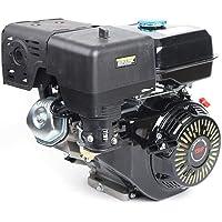 OUKANING Motor de gasolina, 4 tiempos, 15 CV, 9 KW, motor de repuesto con alarma de aceite