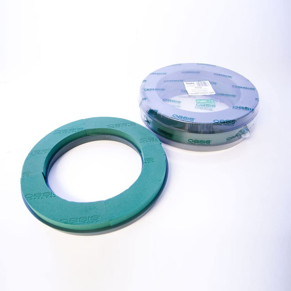 Pack Of 2 Naylorbase Plastic Wreath Rings 14 36cm Amazon Co Uk Kitchen Home