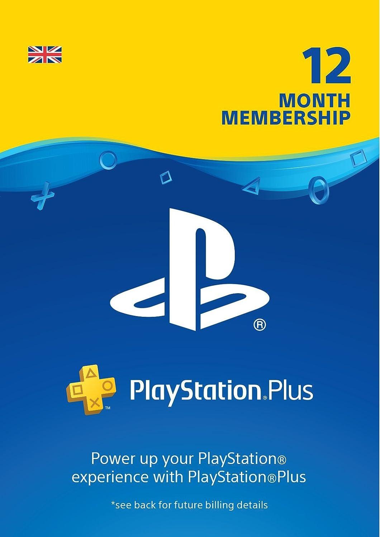 PlayStation Plus: 12 Month Membership   PS4   PSN Download